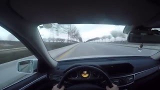 mercedes benz e350 cdi 4matic pov drive gopro hero4