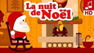 LA DOUCE NUIT DE NOEL chanson de noël en français & comptine pour maternelle & comptine bébé