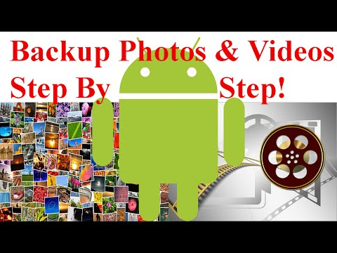 how to backup photos from android phone to google drive