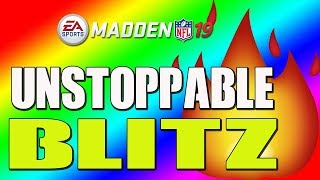 THIS BLITZ WILL FORCE RAGE QUITS IN MADDEN 19!! UNSTOPPABLE DEFENSE!