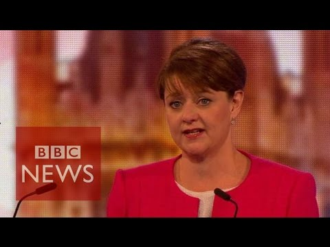 Plaid's Wood would not cut deficit 'at any cost' - BBC News