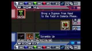 Digimon World 3 - Card Battle - BK Agumon (Delete Matrix)
