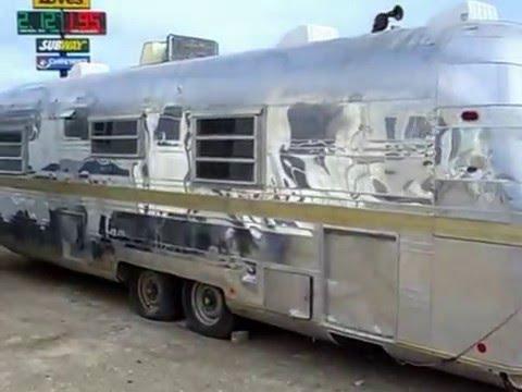 Vintage STREAMLINE Empress Travel Trailer