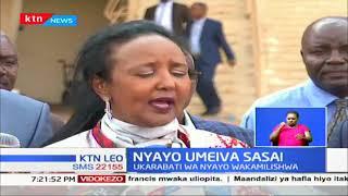 Waziri Amina Mohamed asema ukarabati wa Nyayo umekamilishwa na utaanza kutumika Mechi
