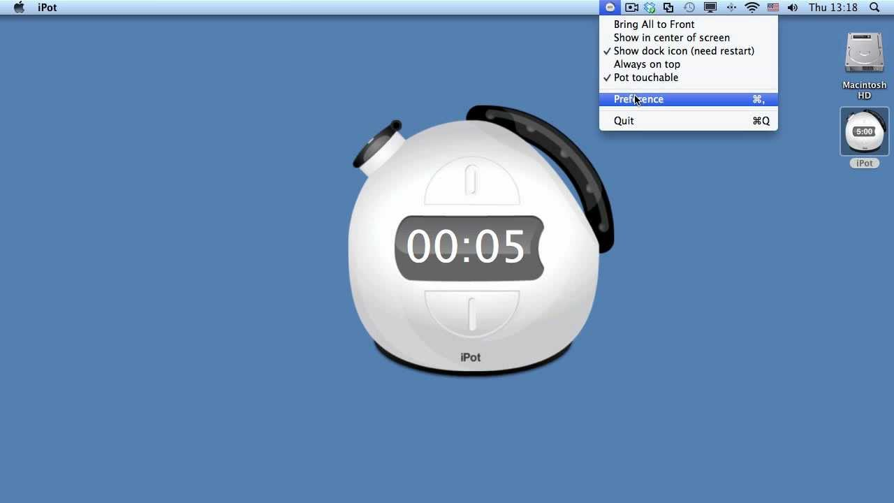 iPot -- Animated Countdown Timer