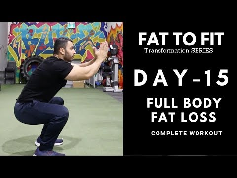 Complete HOME FAT LOSS Workout! Day-15 (Hindi / Punjabi)