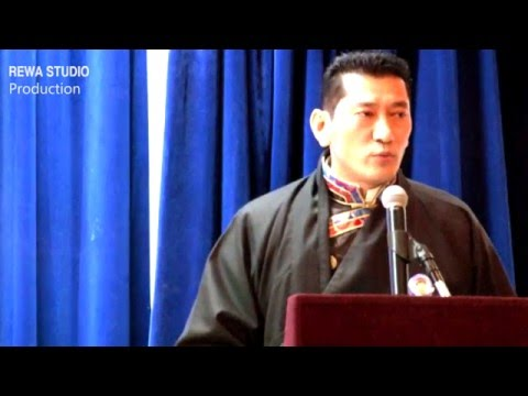 Public Talk by Sikyong Dr. Lobsang Sangay in NYC 2/14/2016)