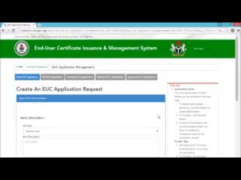 END USER EUC VIDEO