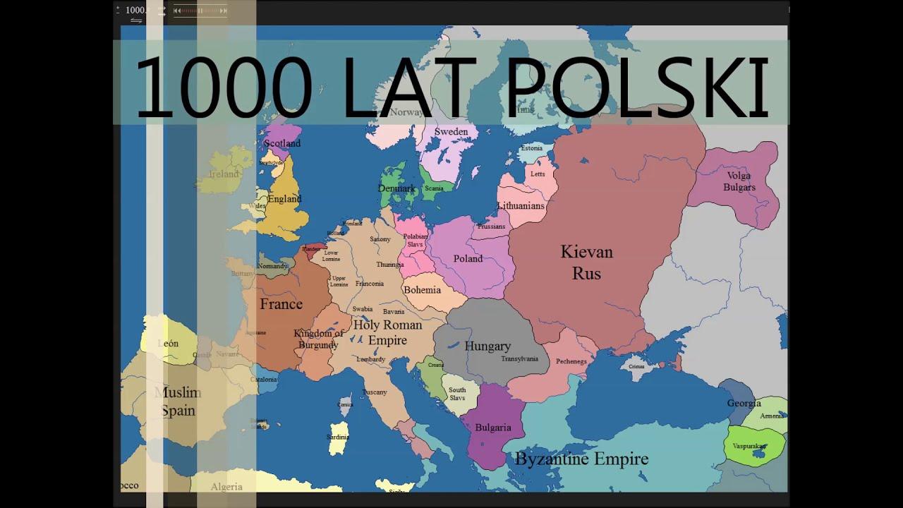 1000 Lat Polski W 5 Minut Youtube