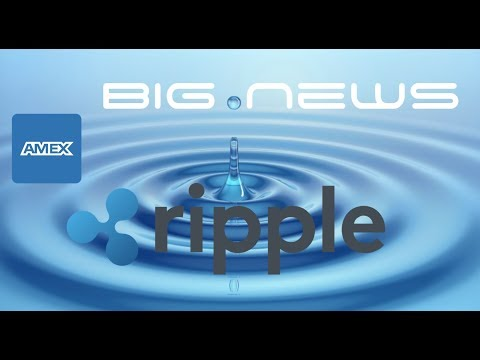 Time To Buy Ripple 2017 or 2018? American Express Partners With RippleNet XRP