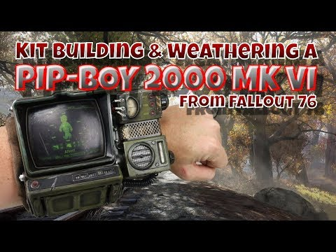 Kit Building & Weathering A Pip Boy 2000 MK VI From Fallout 76