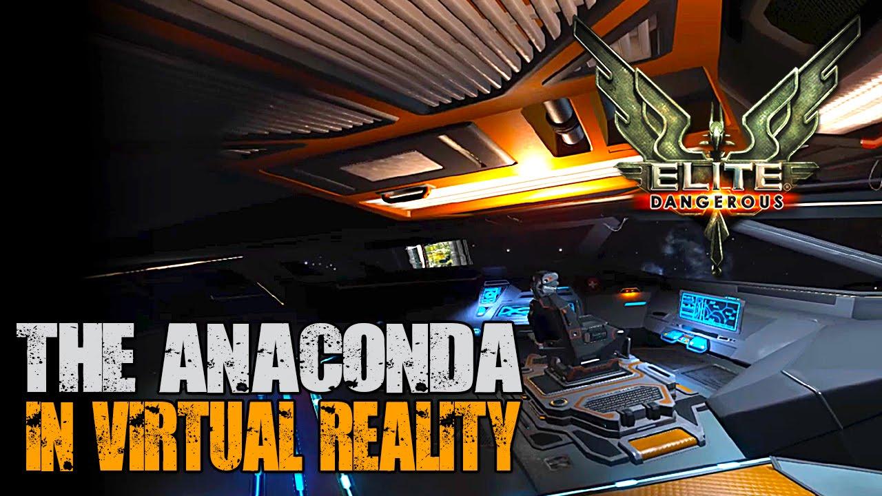 Elite Dangerous The Anaconda In Vr On Oculus Rift At 720p Youtube