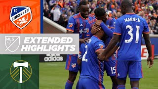FC Cincinnati put on a Show in First Ever MLS Home Game | Extended Highlights