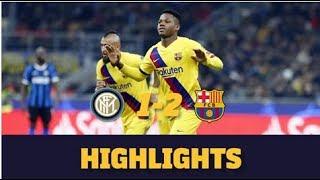 HIGHLIGHTS | Inter 1-2 Barça
