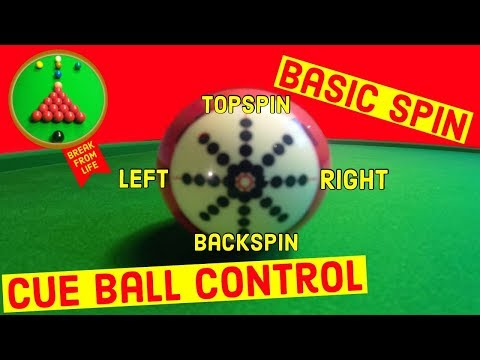 Snooker Basic Cue Ball Control