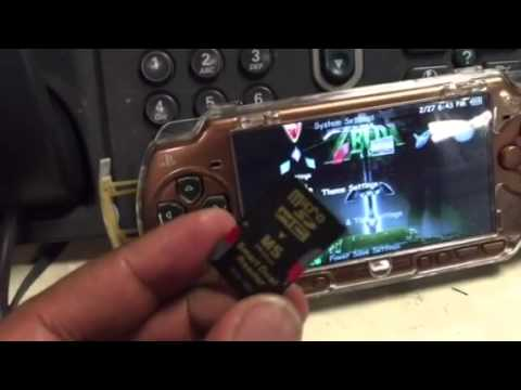 How to put 128gb on your PSP!