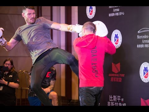 Michael Bisping's Q&A with the media at UFC Shanghai