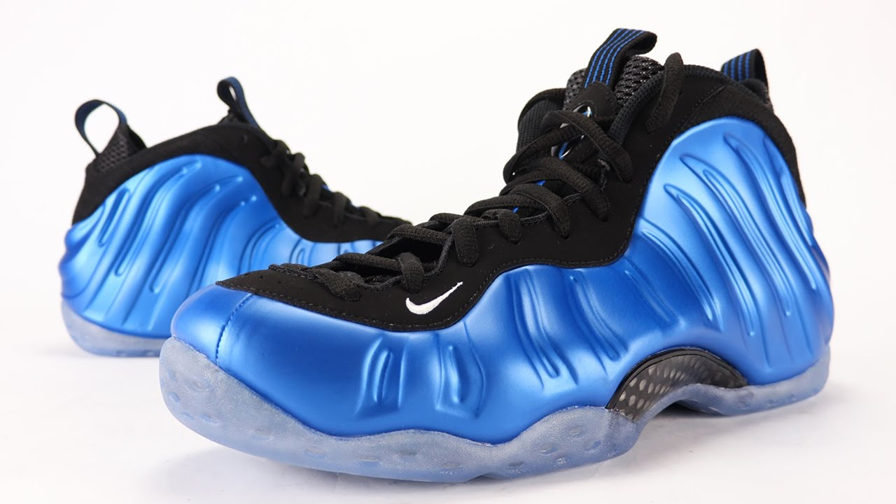 104e218d500e5 Nike Air Foamposite One XX OG Royal 2017 Review + On Feet - YouTube