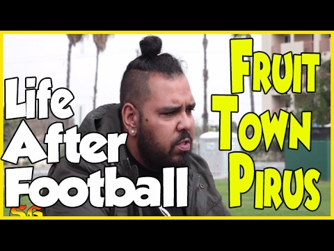Phonk P talks about playing college football and coming back to Fruit Town Piru