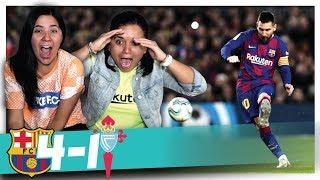 ¡HAT TRICK DE MESSI IMPRESIONANTE! REACCIÓN AL BARCELONA VS CELTA (4-1)   Dúo Dinámico