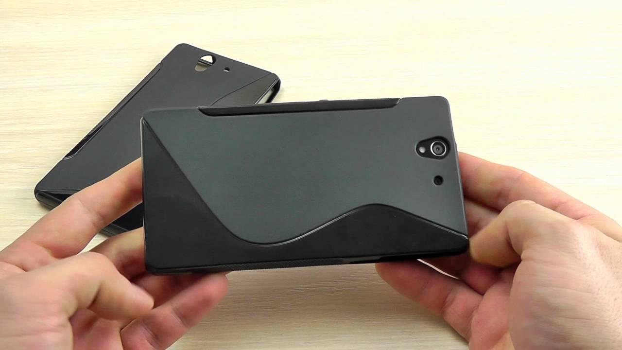 ОБЗОР: Практичный Силиконовый Чехол-Накладка для Sony Xperia Z .