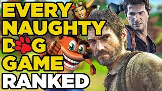Ranking Every Naughty Dog Game From Worst To Best