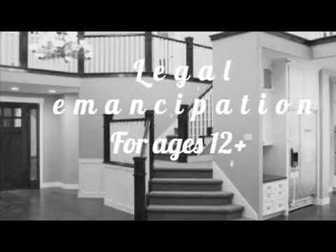 • Legal emancipation subliminal 12+ •