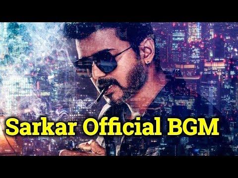 Sarkar Movie BGM| Sarkar Movie Theme Music| Vijay 62 Song| தமிழ்