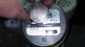 Испытания счетчика СО-505, вращение назад - YouTube