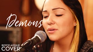 Repeat youtube video Demons - Imagine Dragons (Boyce Avenue feat. Jennel Garcia acoustic cover) on Apple & Spotify