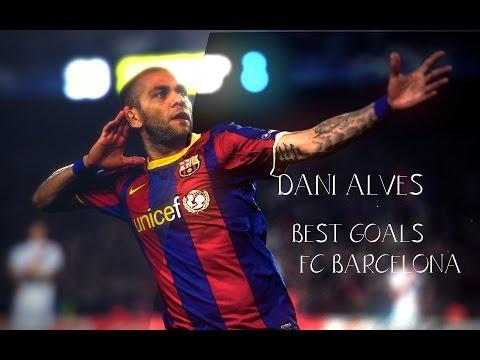 DANI ALVES TOP GOALS FOR BARCELONA FC #ObrigadoAlves