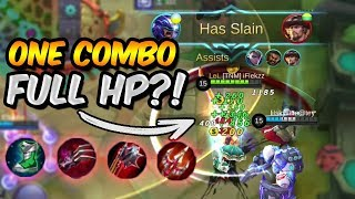 ALUCARD FULL LIFESTEAL BUILD #2 - 1 COMBO FULL HP?! - MOBILE LEGENDS