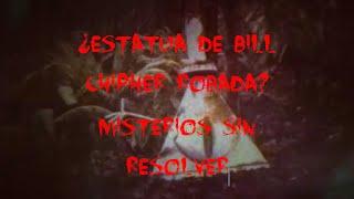 Gravity Falls Final, ¿ESTATUA DE BILL CHIPHER ROBADA?, Misterios sin Resolver, y mucho mas.......