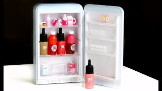 Peripera Peri's Mini Fridge Unboxing & Swatches | BEAUTY NEWS REVIEWS