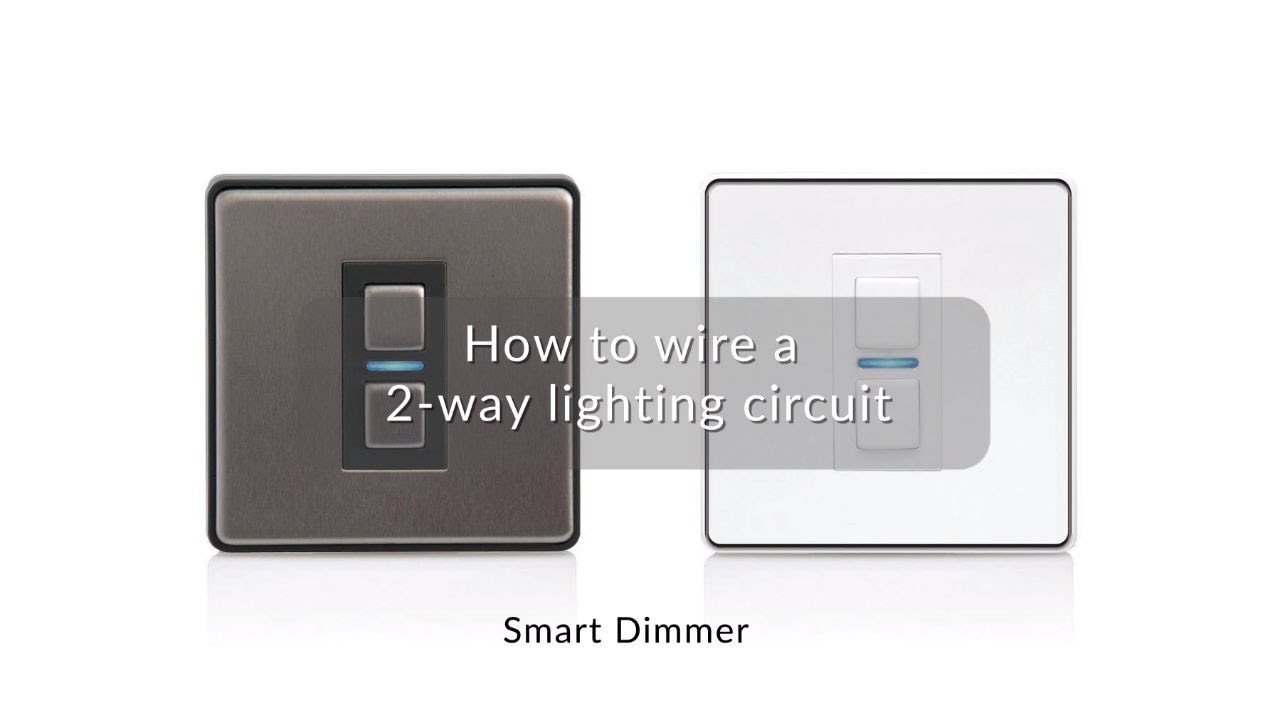 How Do I Wire 2 Way Smart Series Dimmers Lightwave