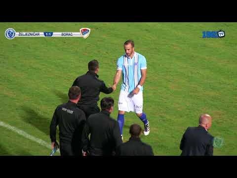 Izvještaj: FK Željezničar - FK Borac 2:1 (FULL HD)
