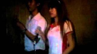 Karaoke fun by Jeab & Nutty