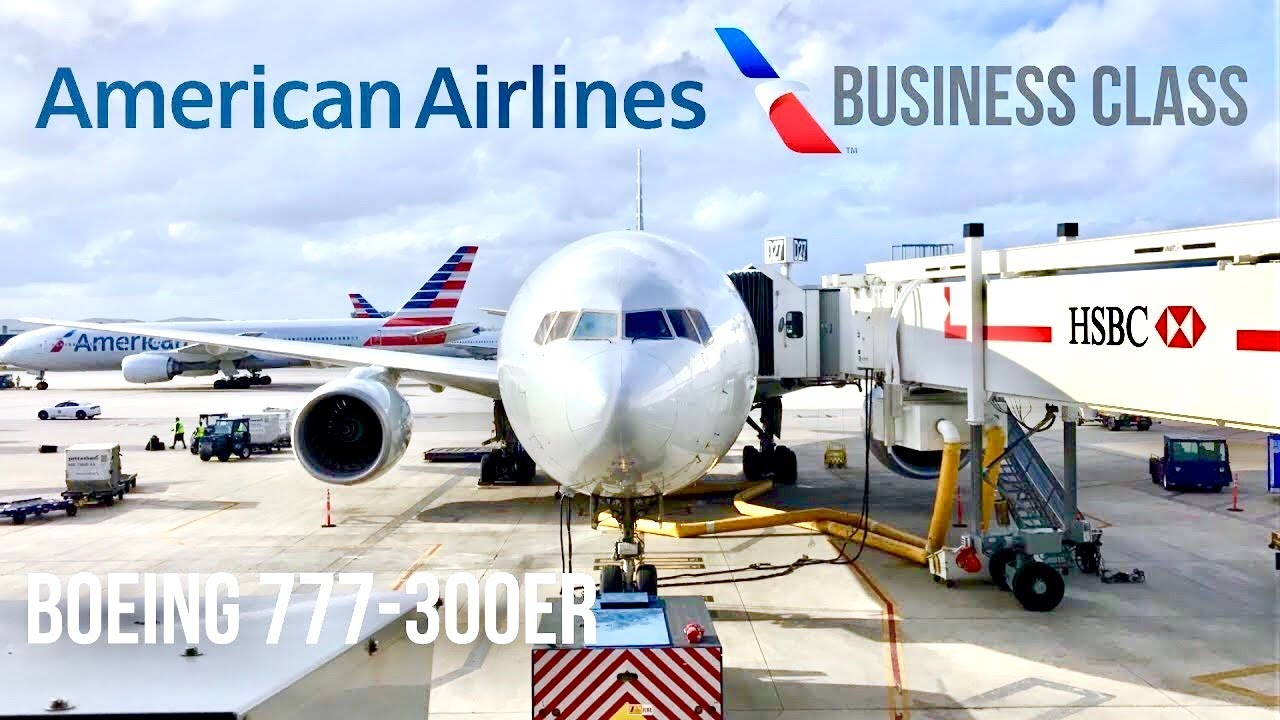 American Airlines Boeing 777 300er Business Class Miami To