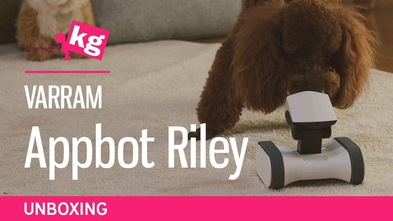 Varram Appbot Riley Unboxing: Watchdog