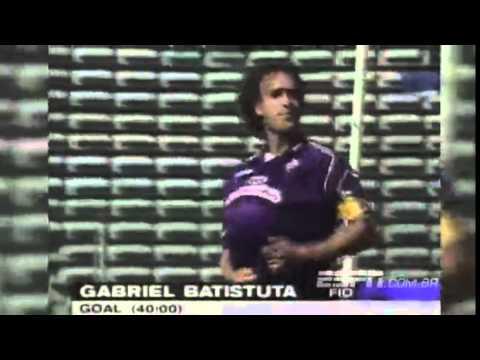 Lazio 1 x 4 Fiorentina - Campeonato Italiano 1997/1998