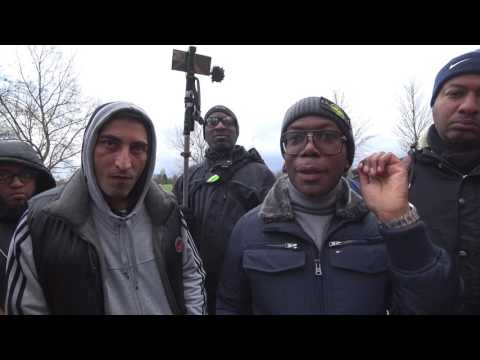Speakers Corner - Rob (& others) talking to Gary -