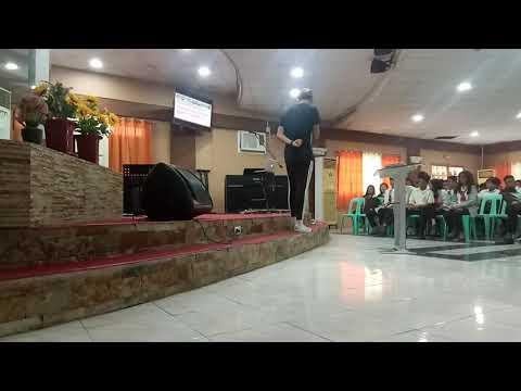 Mt Moriah Christian Academy invited JM to speak for their Last Senior High Chapel Service...Topic: