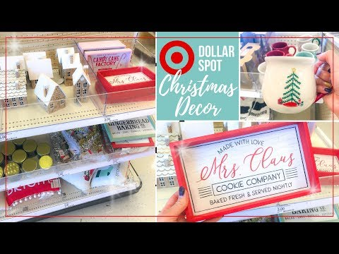 Target Dollar Spot Christmas 2019 🎄 Target Bullseye Playground Christmas Home Decor Shop with Me