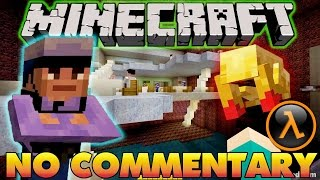 Half-Life in Minecraft: BLUE SHIFT  【NO Commentary】