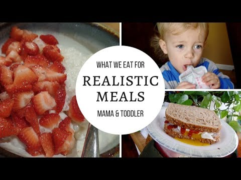 REALISTIC WHAT I EAT IN A DAY ‪|‬ Toddler & Single Mom