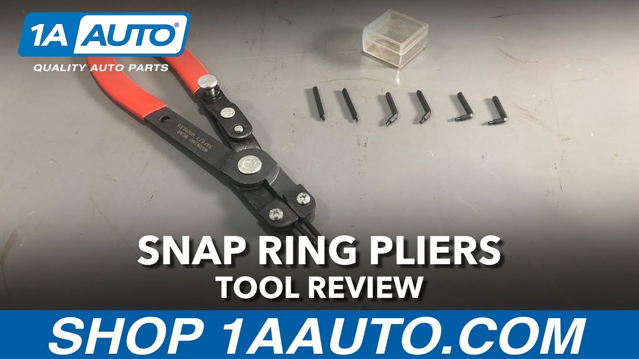 Snap Ring Pliers Available On 1aauto Com Youtube