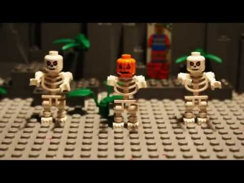 LEGO SPOOKY SCARY SKELETONS