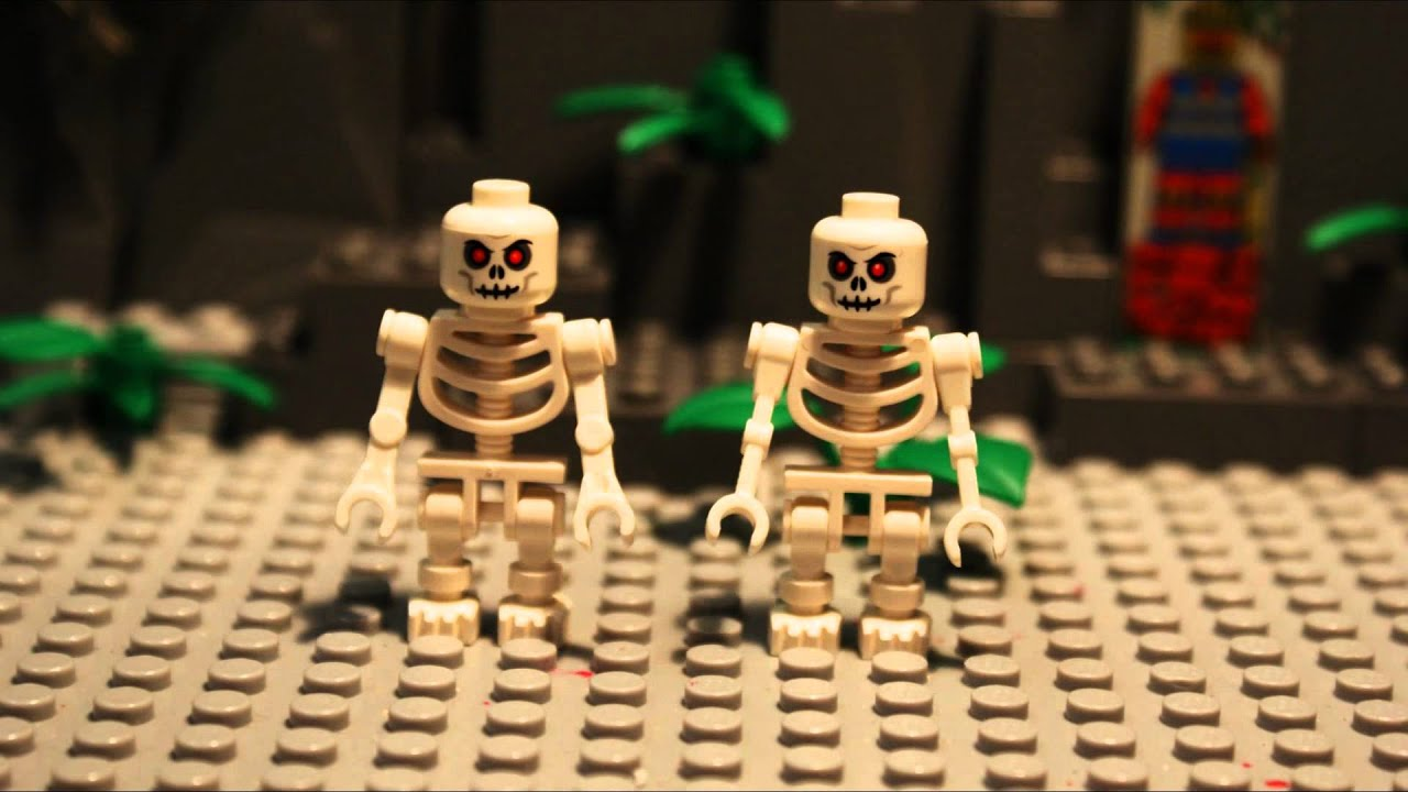 LEGO SPOOKY SCARY SKELETONS YouTube