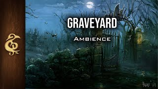 D&D Ambience   Graveyard   Haunted, Creepy, Scary, Eerie, Crows, Immersive
