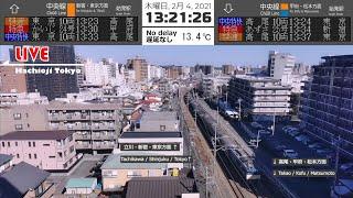 【アーカイブ】2021年2月4日 E217系(Y-48) 廃車回送 八王子ライブカメラより